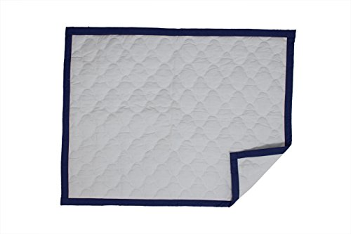 (Bacati - MixNMatch Morocan Tiles Quilted Crib Quilt/Play Mat)