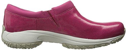 Work Women's Shoe Encore Moc Pro Shine Merrell Resistant Fuchsia Slip OUvnAW6