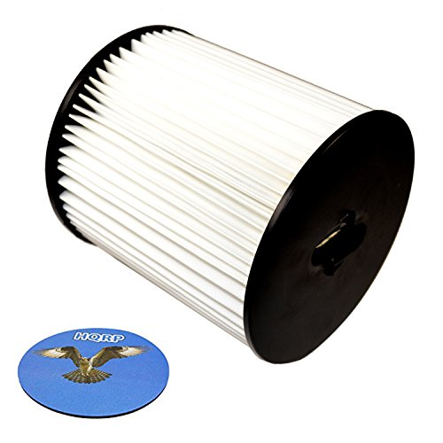"""HQRP 7"""" Filter for Titan TCS 5525 TCS-5525 H-P Central Vacuum Systems, 8106-01 Replacement Coaster"""