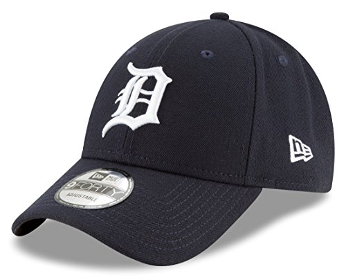(New Era Detroit Tigers MLB 9Forty The League Home Adjustable Hat)