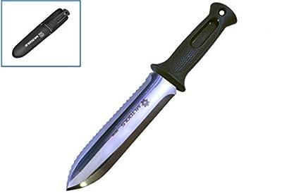 MLTOOLS Hori-Hori Garden Digging Knife P8246 for gardeners,Hunters, Hikers, Campers, Metal Detecting or Fishers