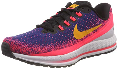 Nike Men's Air Zoom Vomero 13 Running Shoe Blue Void/Orange Peel-Flash Crimson 9.0