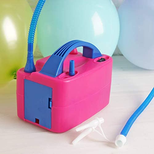 Hand Held Double Action Balloon Air Pump Inflator for Birthday Wedding Party ss