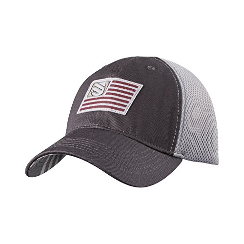 BLACKHAWK! Men's Foam Mesh Back Fitted Cap, Large/X-Large, Slate/Steel