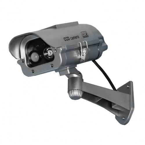 7 IR Dummy Camera w/ Solar Powered Motion Strobe Light (Please see item detail in description) by Cutting Edge by W2B
