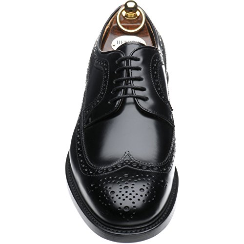 Herring Herring Leconfield, Scarpe stringate uomo nero Black Polished, nero (Black Polished), 43 EU