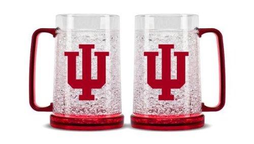 Duck House NCAA Indiana Hoosiers 16oz Crystal Freezer Mug ()