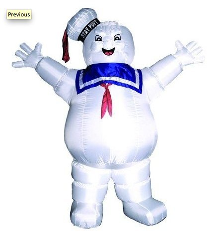 Stay Puft Marshmallow Man Lawn Decoration (Stay Puft Marshmallow Man 8 Foot Inflatable)