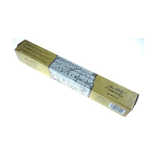 Tim Holtz Idea-ology Melange Tissue Wrap, Decorative Craft Paper, 1- 12 Inch Wide Roll, 15 Feet per Roll, TH93042 5