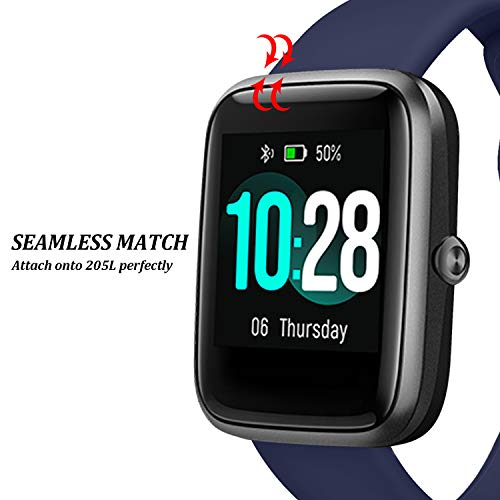 Lintelek Soft Silicone Smart Watch Bands Replacement Straps Bands for ID205L Smart Watches 2