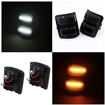 Amazon Com Side Mirror Turn Signal Amber Led Light