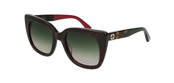 Gucci GG0163S 004, Gafas de sol para Mujer, Marrón (4/Green ...