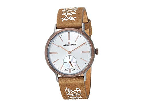 Lucky Brand Women's Ventana LW00164 Tonal Embroidered/Two-Tone One Size (Lucky Brand Watches For Women)