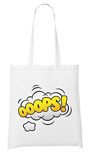 Ooops Comic Bag White Certified Freak