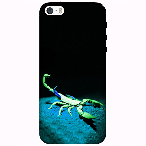 Coque Apple Iphone 5-5s-SE - Alien Scorpion Vert
