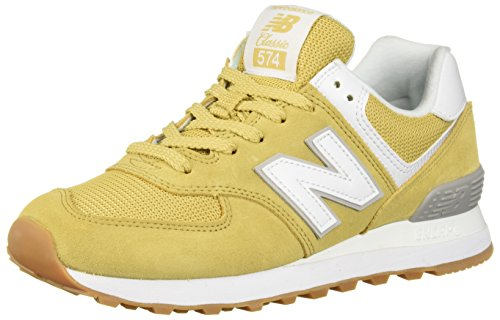New Balance Womens 574 Core Sneaker, Moonbeam/Overcast, 11 W US (Women Core)
