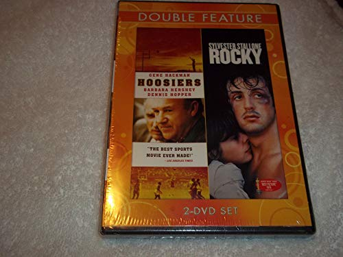 2009 Combo - HOOSIERS (1986) and ROCKY (1976) - Two-disc DVD Combo Set (2009), Gene Hackman, Sylvester Stallone