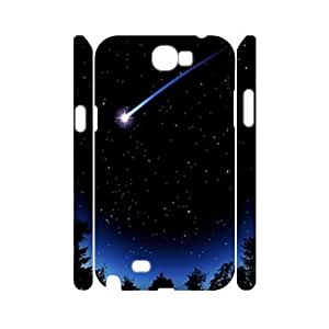 Stars 3D-Printed ZLB586648 Brand New 3D Phone Case for Samsung Galaxy Note 2 N7100