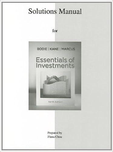 Amazon solutions manual to accompany essentials of investments solutions manual to accompany essentials of investments 9th edition fandeluxe Gallery