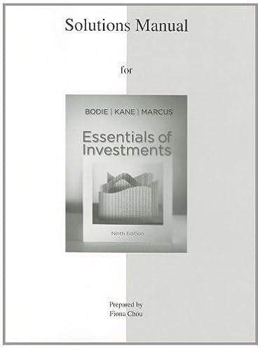 amazon com solutions manual to accompany essentials of investments rh amazon com Fluid Mechanics Fluid Mechanics