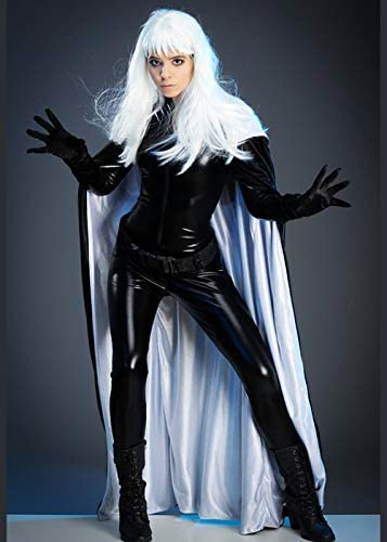 Magic Box Disfraz de superhéroe Estilo tormenta para Mujer XS (UK6 ...