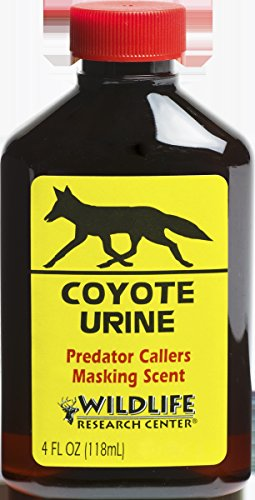 Wildlife 523 Coyote Urine, 4-Ounce by Wildlife Research