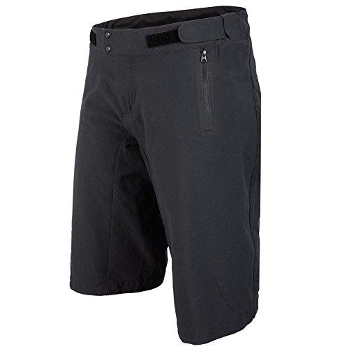 腐食する経営者電子レンジ(Small, Carbon Black) - POC Women's Resistance Enduro LT Shorts, Womens, Resistance Enduro Lt WO Shorts