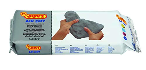 Jovi Air Dry Modeling Clay, Grey, 2.2