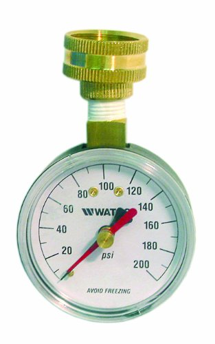 Watts DP IWTG Water Pressure Test Gauge for Garden Hose