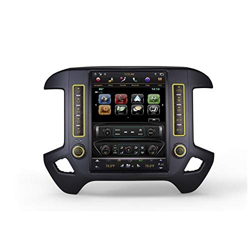 """AGT 12.1"""" Android 7.1 Fast Boot Vertical Screen Navigation Radio for GMC Sierra 2014-2018"""