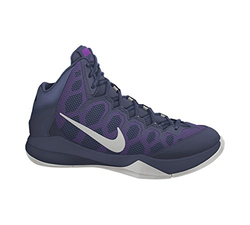 Nvy Uomo mid Nike Blu A Zoom nght argento nero obsdn mtllc Doubt Sportive Without Scarpe Slvr waST4apP