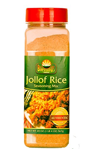 Jollof Seasoning Mix (20 oz) - Family size by Blessing's Foods