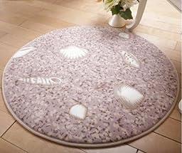 C&H/ Living room round mat bedroom bedside rug anti-slip fitness mat yoga mats , 6