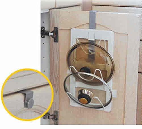 over the door pot lid rack - 6