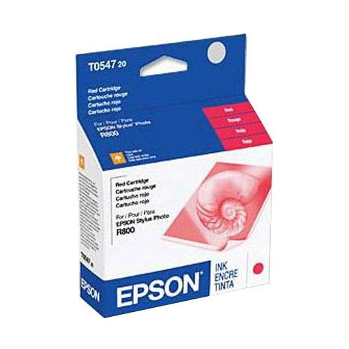 Epson - Ink Cartridge,For Stylus Photo R800,400 Page Yield,Red, Sold as 1 Each, EPS T054720 (Office Ink Depot Epson)