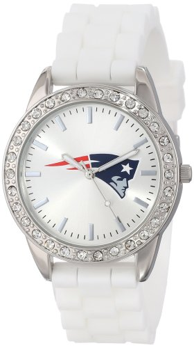 New England Patriots Womens Watch - Game Time Women's NFL-FRO-NE Frost Watch - New England Patriots