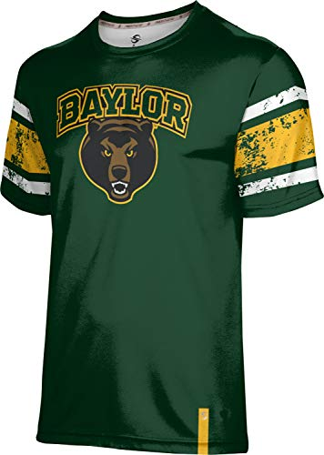 ProSphere Baylor University Boys' Performance T-Shirt (End Zone) FF5C (Large)