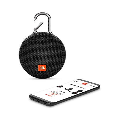 JBL Clip 3 Portable Waterproof Wireless Bluetooth Speaker - Black by JBL (Image #3)