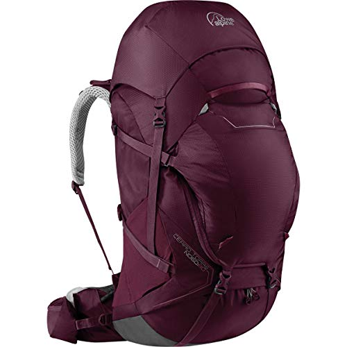 - Lowe Alpine Cerro Torre ND60:80L Backpack - Women's Fig, One Size