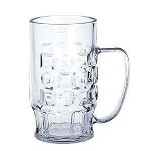 20piezas, jarra de cerveza 0,4l de plástico