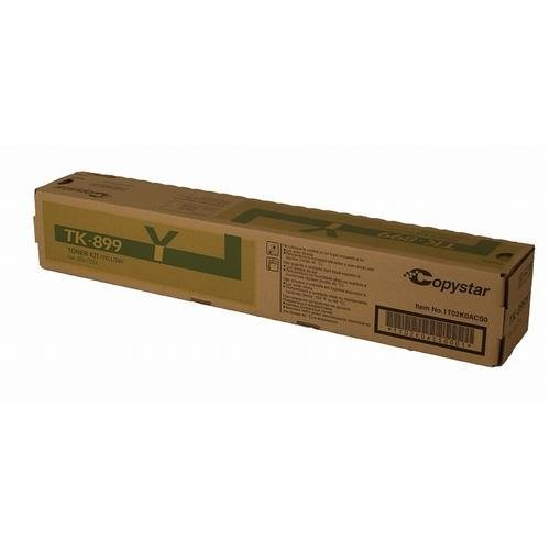 Copystar 1T02K0ACS0 OEM Yellow Toner Cartridge by Osso