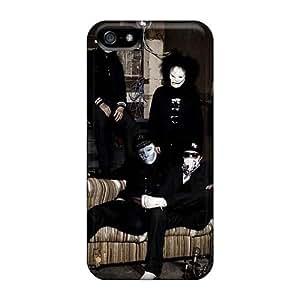 JohnPrimeauMaurice Iphone 5/5s Protective Hard Phone Cover Provide Private Custom Lifelike Asking Alexandria Band Series [PJY4443uZvz]
