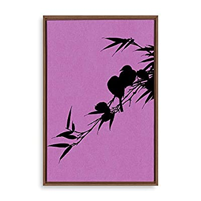 Framed Canvas Wall Art for Living Room, Bedroom Simple Style Theme Canvas Prints for Home Decoration Ready to Hang - 16x24 inches
