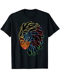 Natural Hair T-Shirt for Black Women Dreadlock Beauty 2a