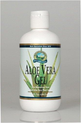 Naturessunshine Aloe Vera Gel Skin Moisturiser from Pure Aloe Vera Plant Juice 8 fl. oz (Pack of 12)