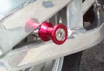 8mm Spools Pro-Tek Triumph Swing Arm Spools 2011 2012 2013 2014 2015 2016 2017 2018 Triumph Street Triple 2011-2018 Triumph Daytona 675R and 2011-2018 Triumph Tiger 800 Black