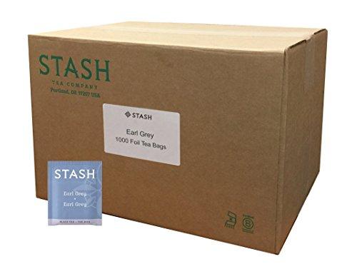 Stash Tea Earl Grey Black Tea, 1000 Count Tea Bags in Foil Full Caffeine Tea, Black Tea with Bergamot, Enjoy Hot or Iced by Stash Tea (Image #5)