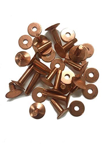 Copper Rivets & Burrs, 5/8