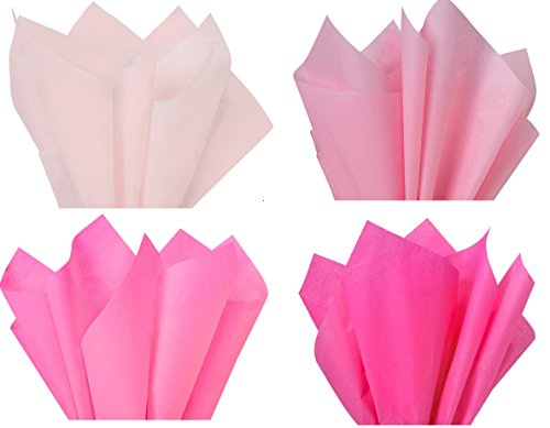 Pink Mix 1 – Gift Wrapping Tissue Paper 96 Sheets 15″ x 20″ Premium Quality Gift wrap Tissue Paper Made in USA