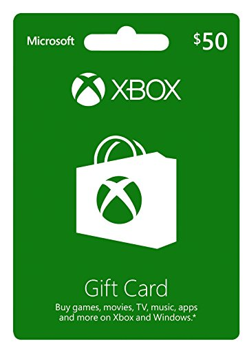 Xbox $50 Gift Card by Microsoft